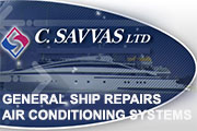 C. SAVVAS Ltd - General Ship Repairs and Air Conditioning